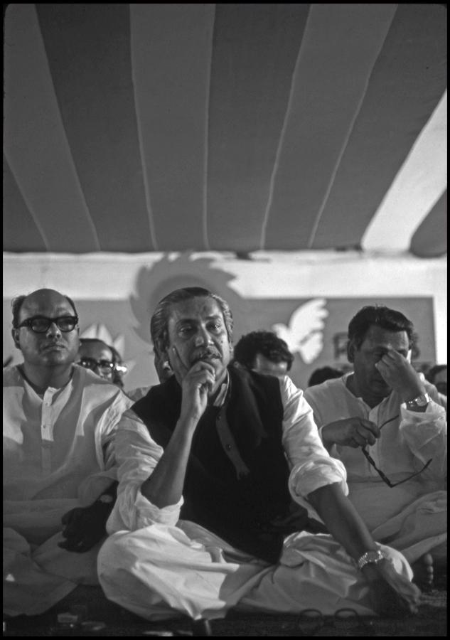 Sheikh Mujibur Rahman, Dhaka, Bangladesh, 1972
