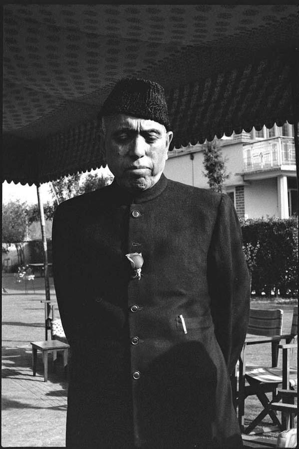 Sheikh Mohammed Abdullah, the Lion of Kashmir, Srinagar, 1979