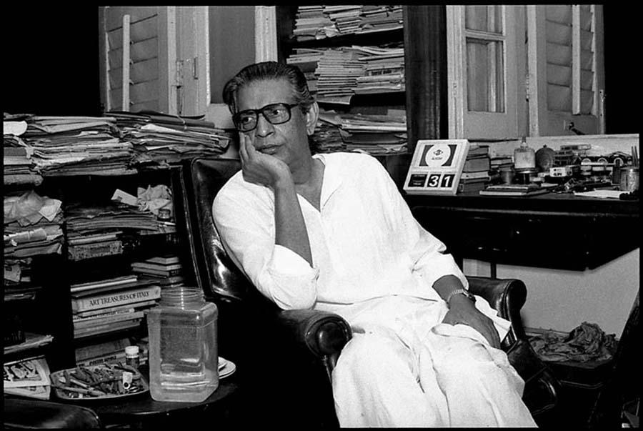 Satyajit Ray, Calcutta, 1986