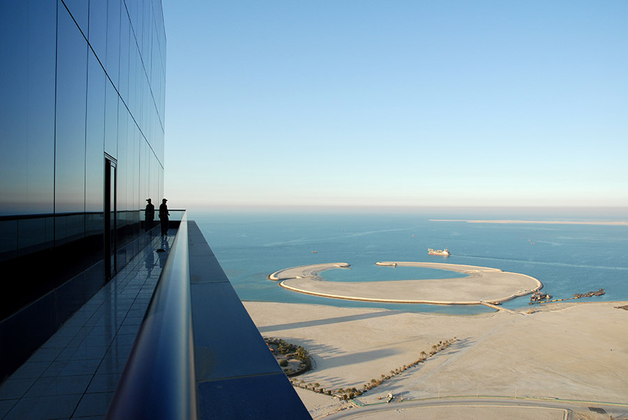 View from the Almoayyed tower, Bahrain, Manama, 2007