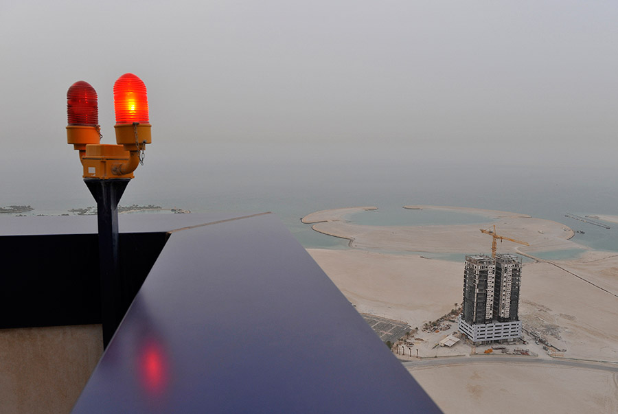 View from the Almoayyed tower, Manama, Bahrain, 2009