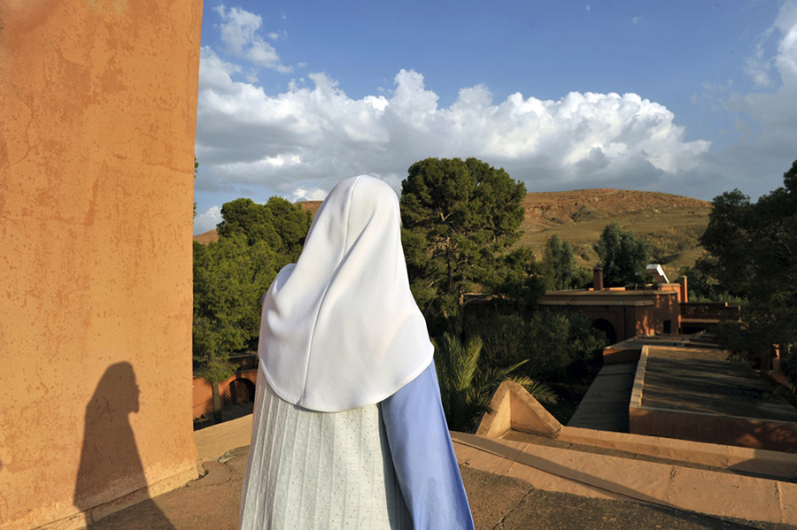 The Melkite Monastery of the Visitation located at Tazert, a village at the foot of the High Atlas, 2011