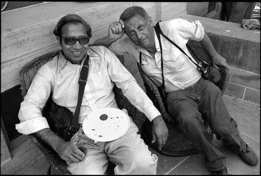 Raghubir Singh and Lee Friedlander, Holi festival, Jodhpur, Rajasthan, 1988