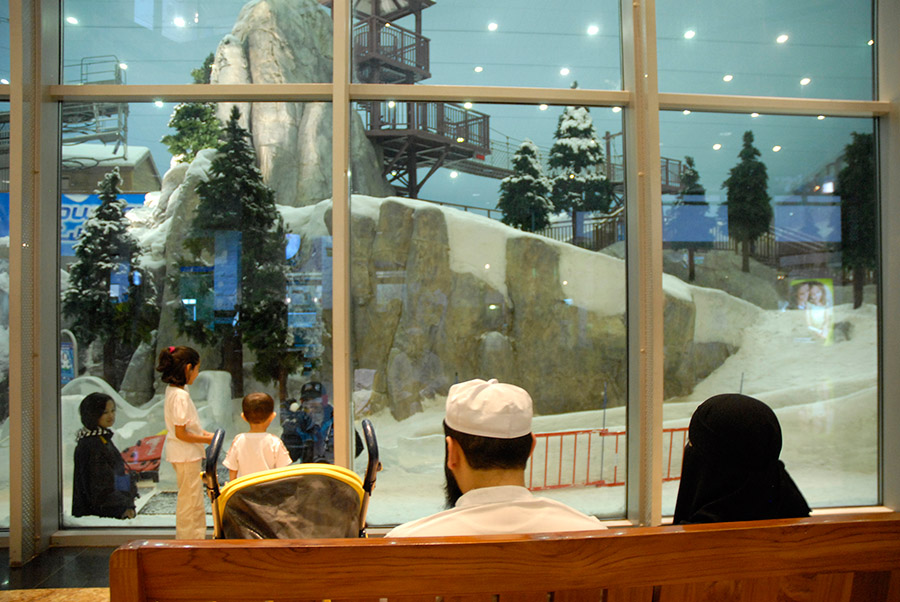 Ski-Dubai, Mall of the Emirates, Dubai, 2007