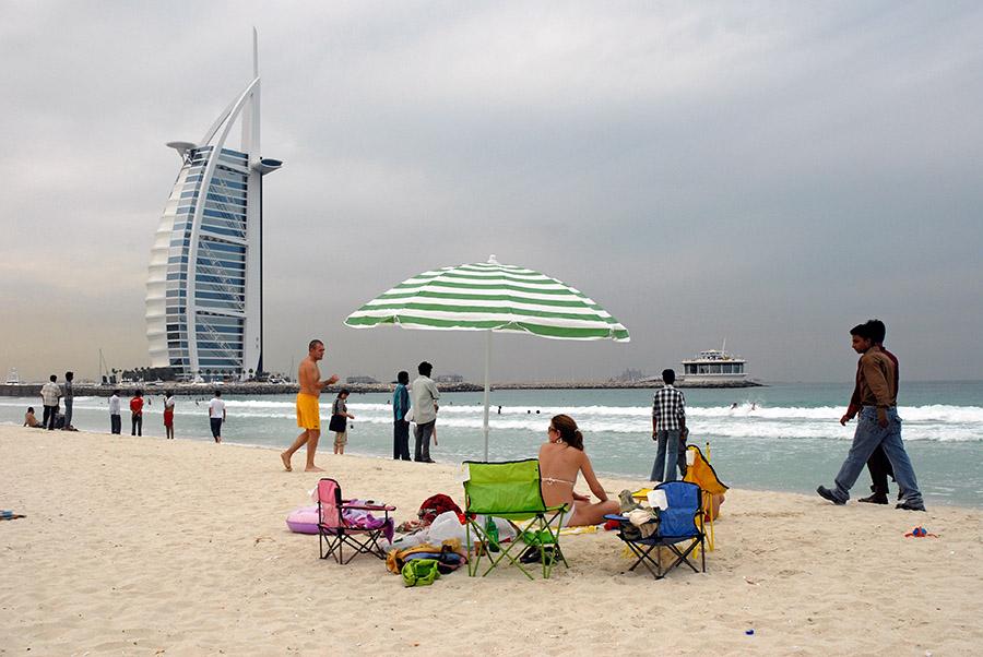 Jumeirah beach, Dubai, 2007