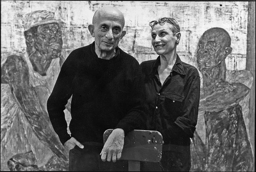 Leon Golub and Nancy Spero, New York, 1989