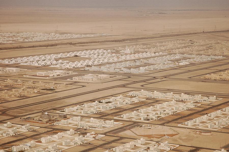 Abu Dhabi suburbs, 2006