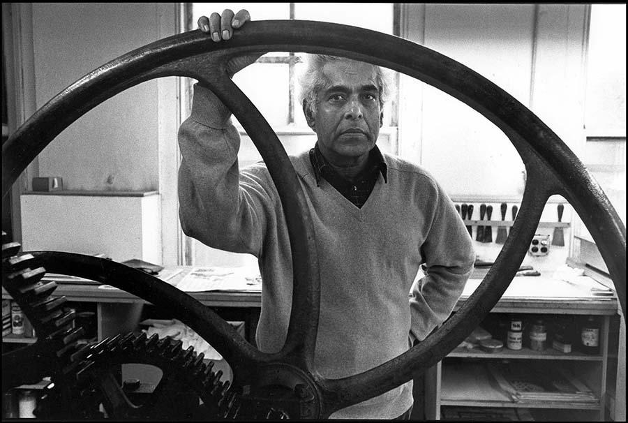 Krishna Reddy, New York, 1989