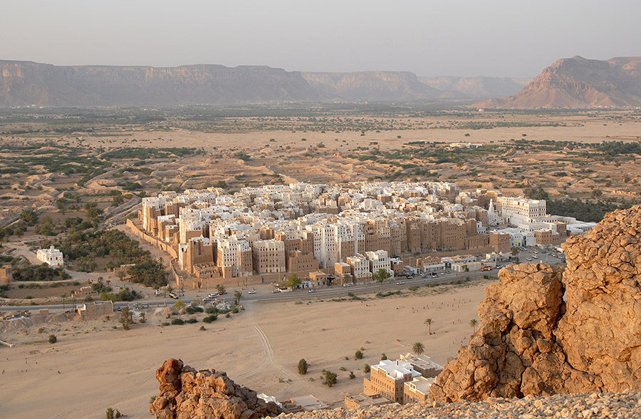 Shibam, Hadramawt, Yemen, 2007