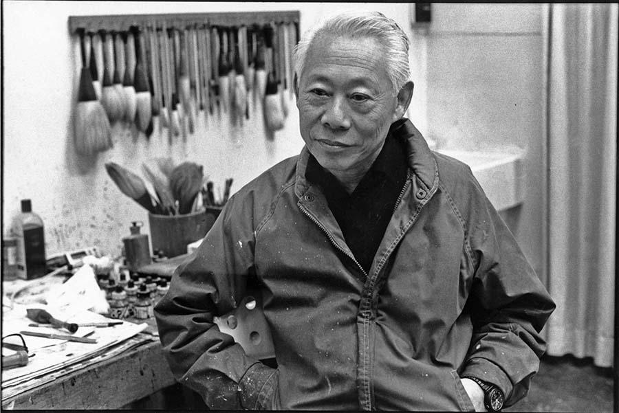 Zao Wou Ki, Paris, 1989