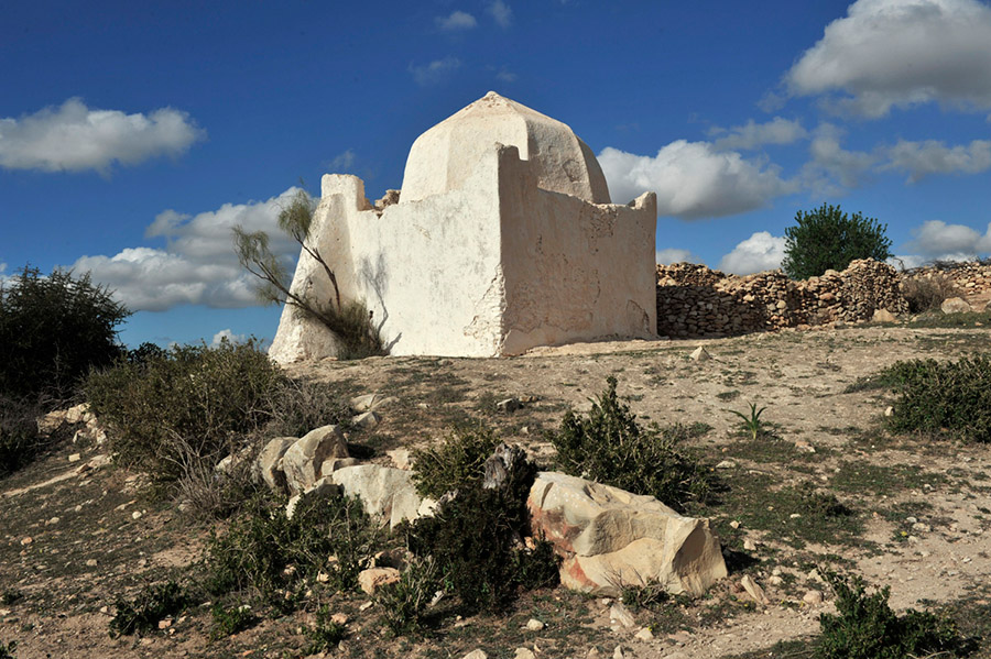 Marabout shrine of Sidi Bamoussa, Ounagha, region of Essaouira, 2012