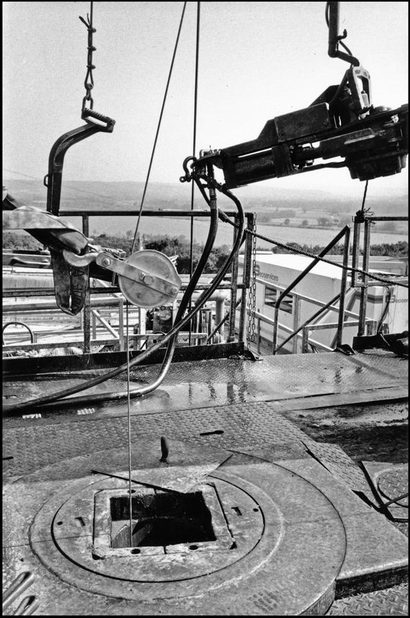 Drilling platform.