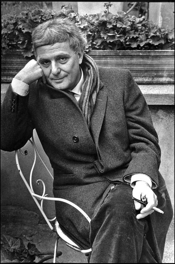 Philippe Sollers, Paris, 1990