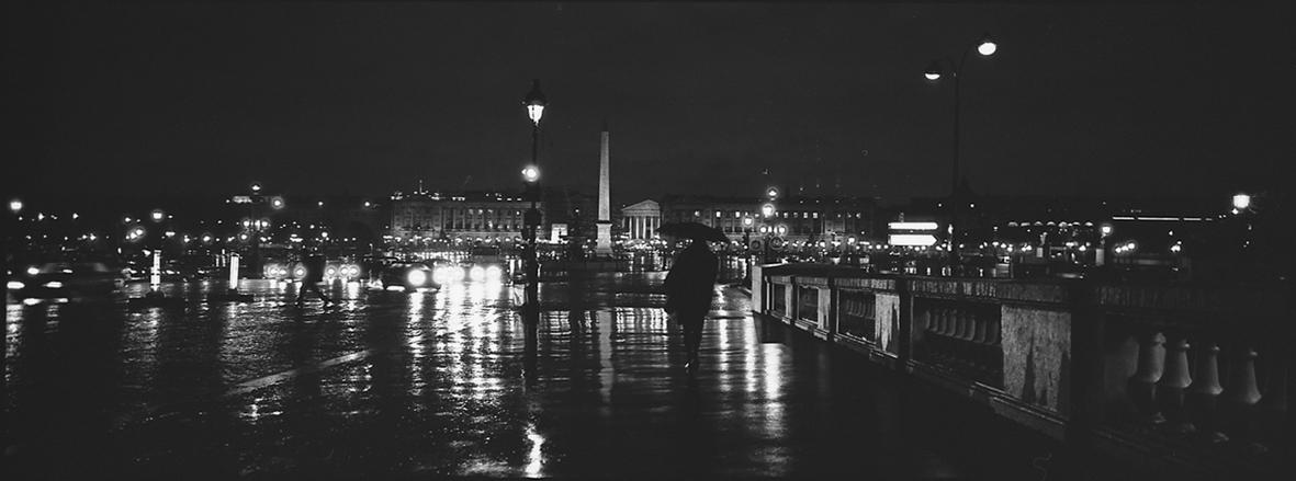 Pont de la Concorde, Place de la Concorde and Eglise de la Madeleine, 2002