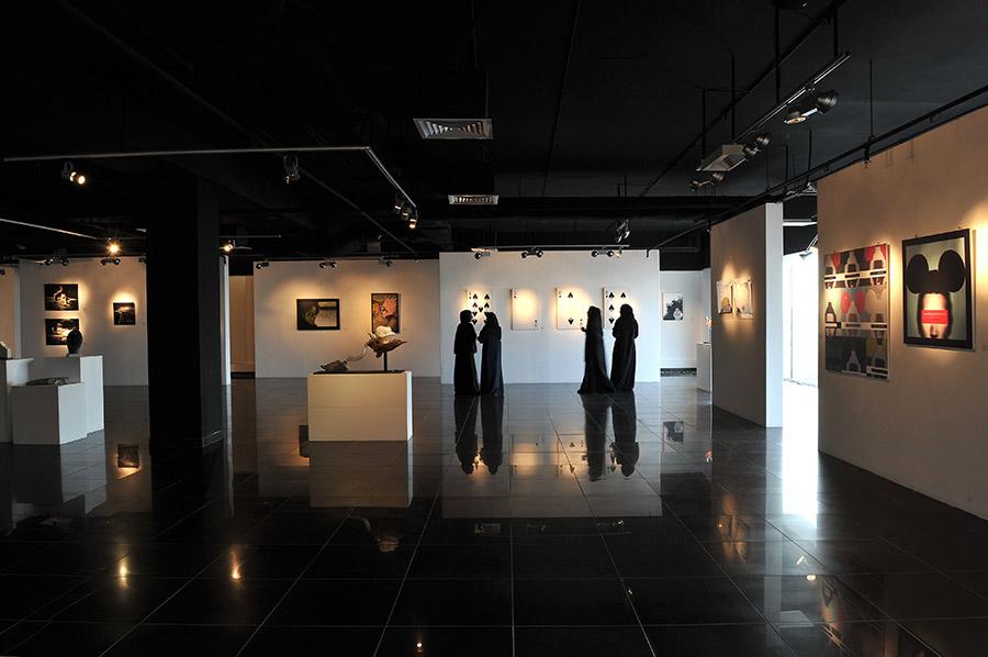 Gallery ATHR, Jeddah, Saudi Arabia, 2011