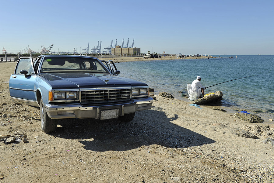 Fishing, Jeddah, Saudi Arabia, 2011