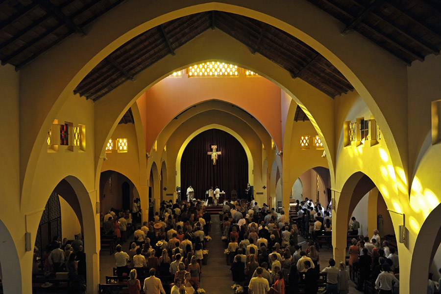 Wedding at the Church of the Martyr Saints, Marrakech, 2011
