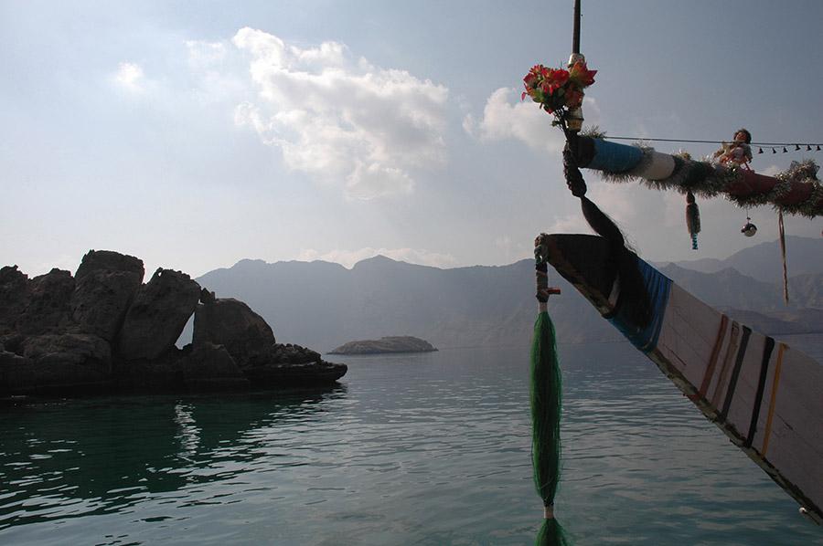 Fjord, Musandam, Oman, 2005