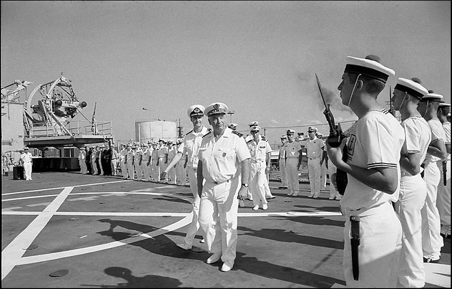 Admiral Jacques Mazars and Dutch Commodore