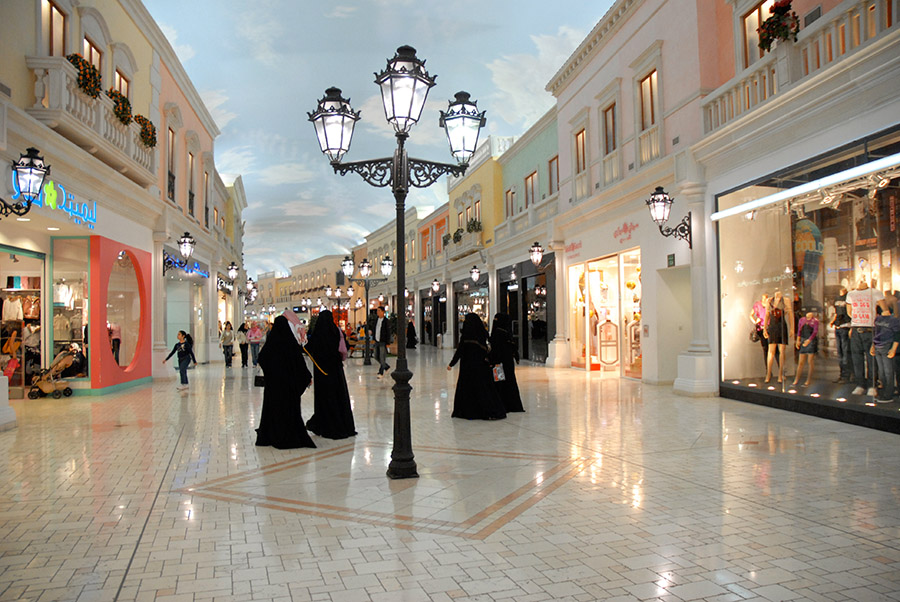 Villagio shopping mall, Doha, Qatar, 2007