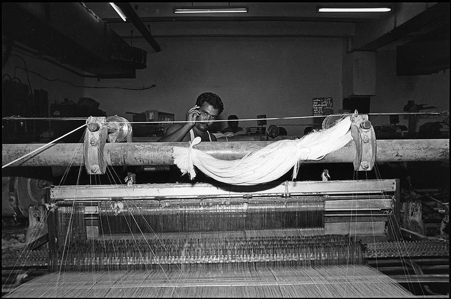Raipur mills, Ahmedabad, Gujarat, 1985