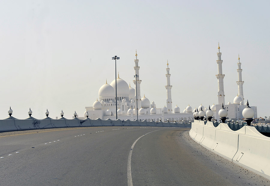 Sheikh Zayed Mosque, Abu Dhabi, 2009