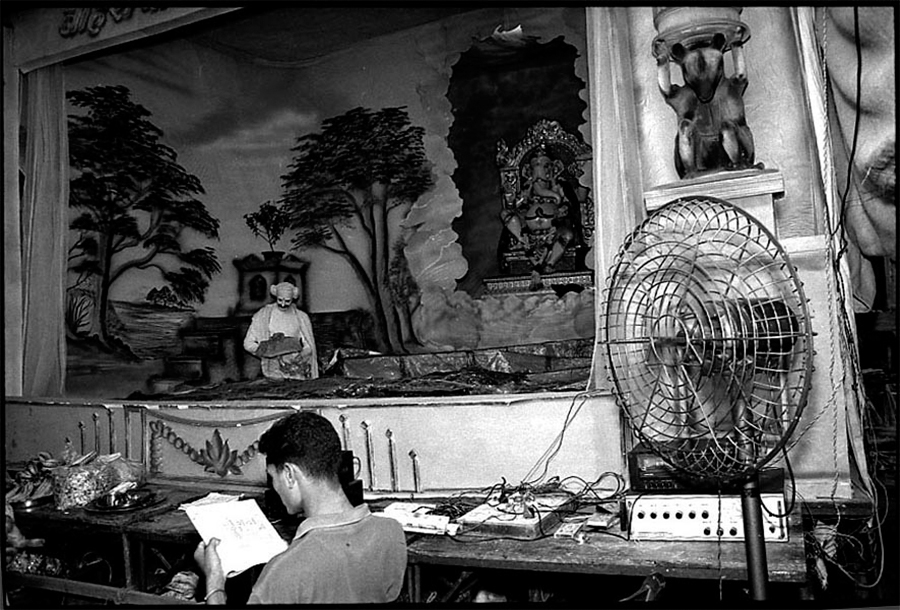 Ganpati image, Bombay, 2001