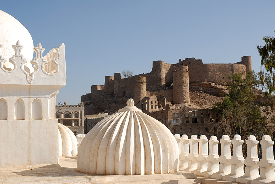 Amiriya Madrasa and Fort, Rada, Yemen, 2007