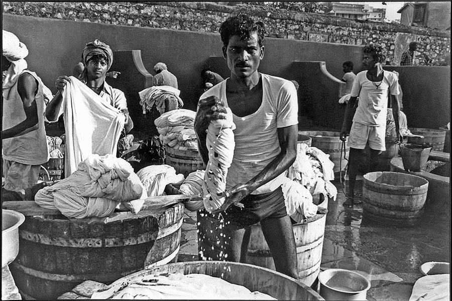 Dhobi ghat, Bombay, 1988