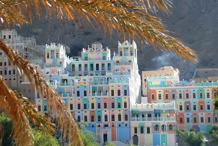 Bugshan Palace, Wadi Do'han, Hadramawt, Yemen, 2007