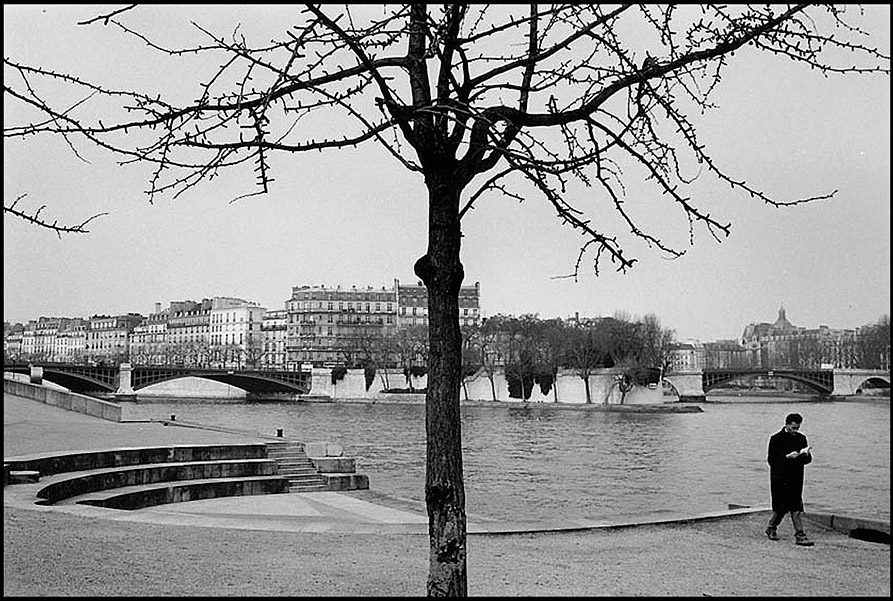 Quai Saint Bernard, Pont de Sully and Ile Saint Louis, 2001
