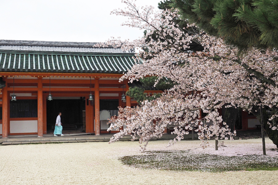 Heian Jingu shrine, Kyoto, Japan, 2015