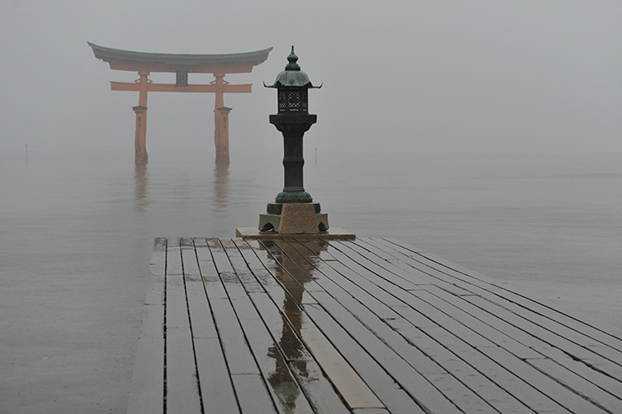 Itsukushima shrine, Miyajima, Japan, 2015